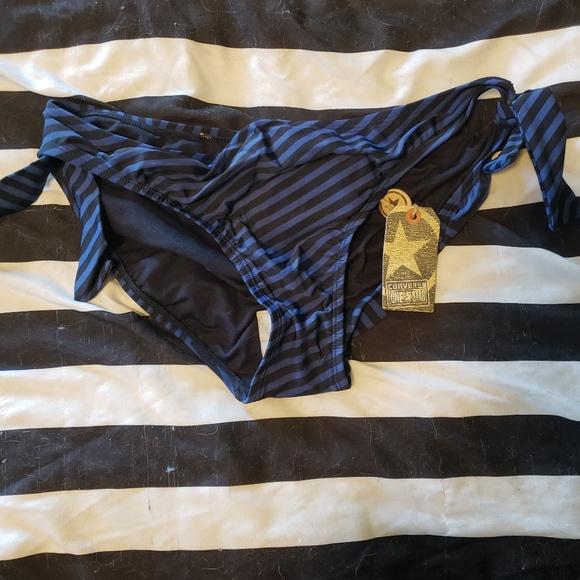 99f3598607 Converse Swim | Nwt One Star Bikini Bottom | Poshmark